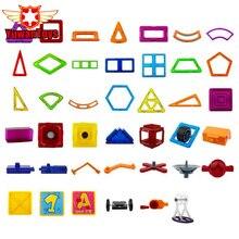 Hot DIY 3D Designer Magnético Blocos de Construção Tijolos Blocos Brinquedos Educationa Modelo Educacional Magnetic Criativo Para As Crianças