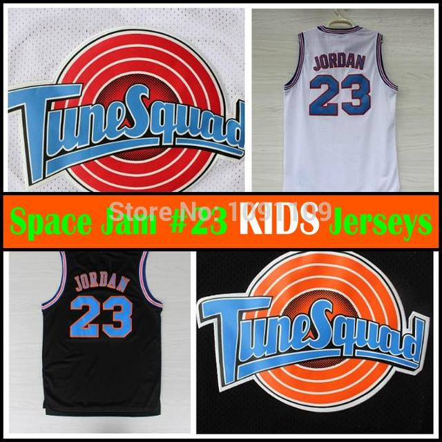 18a663ed55a177 KIDS Space Jam  23 Michael Jordan Basketball Jersey Youth