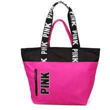 Female Oxford Handbags PINK Bag Multi-functional Tote Women Designer Sac A Main Shopping Mommy Big Large Capacity Shoulder