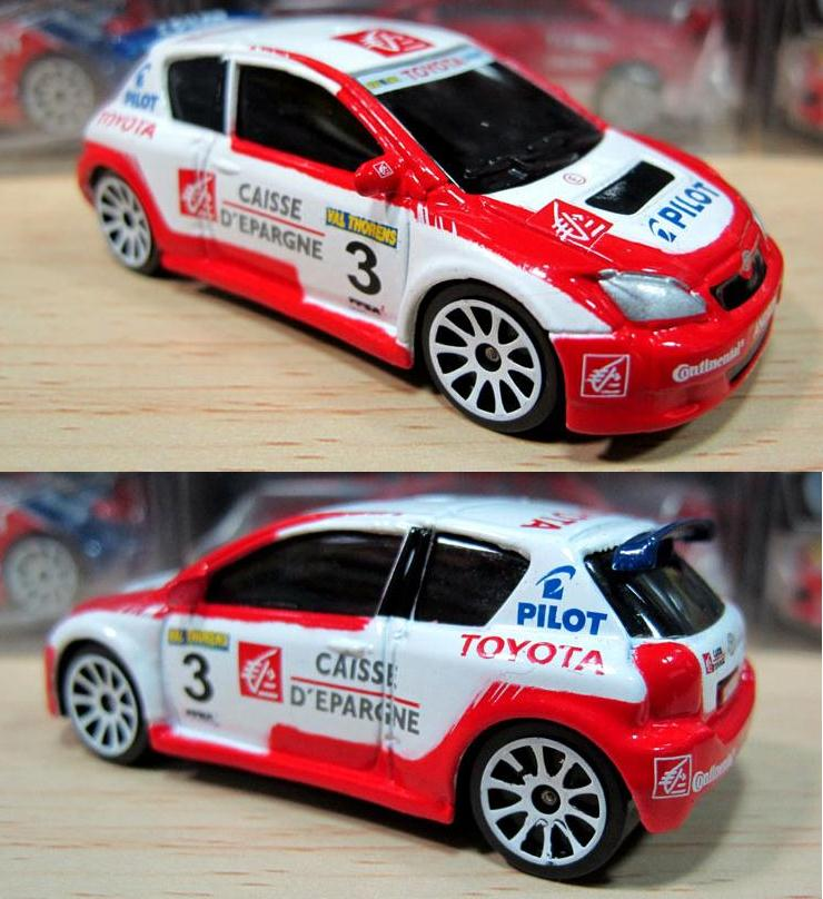 High Simulation Toyota Corolla Racing Model Car,1:64 Alloy Car Model,Diecast Metal Toy Vehicle,free Shipping
