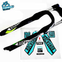 2016 Rock Shox Pike Mtb Fork Stickers Bicicletas Mountain Bike Carbon Forks Decals