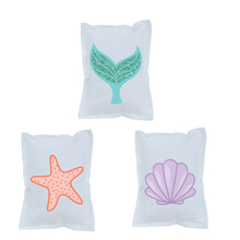 Mermaid Tail Theme Small Pillow Supplies Birthday Party Decoration Upholstery Childrens Room