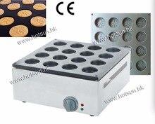 Commercial Use 220v Electric 16pcs Dorayaki Azuki Bean Waffle Maker Baker Machine Iron