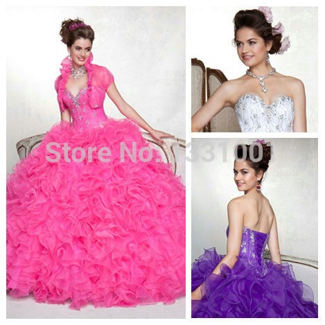 Hot-Sweetheart-Masquerade-Ball-Gowns-2014-New-Arrival-White-Pink-Puffy-Quinceanera-Dresses-For-15-Years