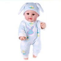 Artificial PVC BJD Reborn Baby Doll High Quality with Cotton Clothes