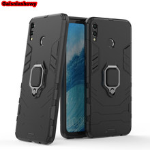 Shockproof Armor Case For Huawei Nova 3 3i Kickstand Finger Ring Holder Case For Huawei P Smart Plus Phone Case Cover Shell Capa(China)