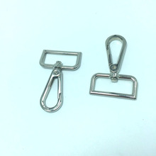 38mm srebrny spust haczyki na zatrzaski tanie tanio Rongxiao Metal H720 snap hook fashionable Guangdong China (Mainland)