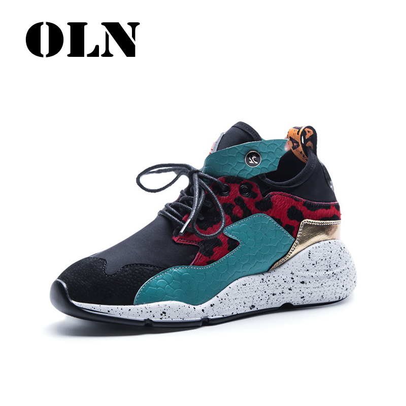 OLN Sport Shoes For Women Outdoor Athletic Mixed Colors Lifestyle 2018 New Genuine Leather Comfortably breathable Allmatch    OLN Sport Shoes For Women Outdoor Athletic Mixed Colors Lifestyle 2018 New Genuine Leather Comfortably breathable Allmatch