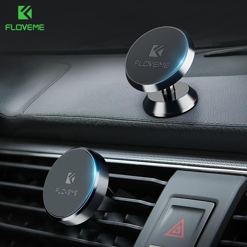 Магнитный автомобильный держатель FLOVEME для iPhone XS MAX Xiaomi магнитный держатель Автомобильный держатель для телефона в автомобиле 2 стиля держатели для мобильных телефонов 2держатель для телефона в машину