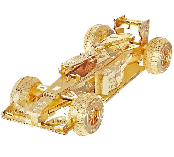3d jigsaw classic diy metallic nano puzzle formula car model kids educational puzzles toys for childrenadults coussin