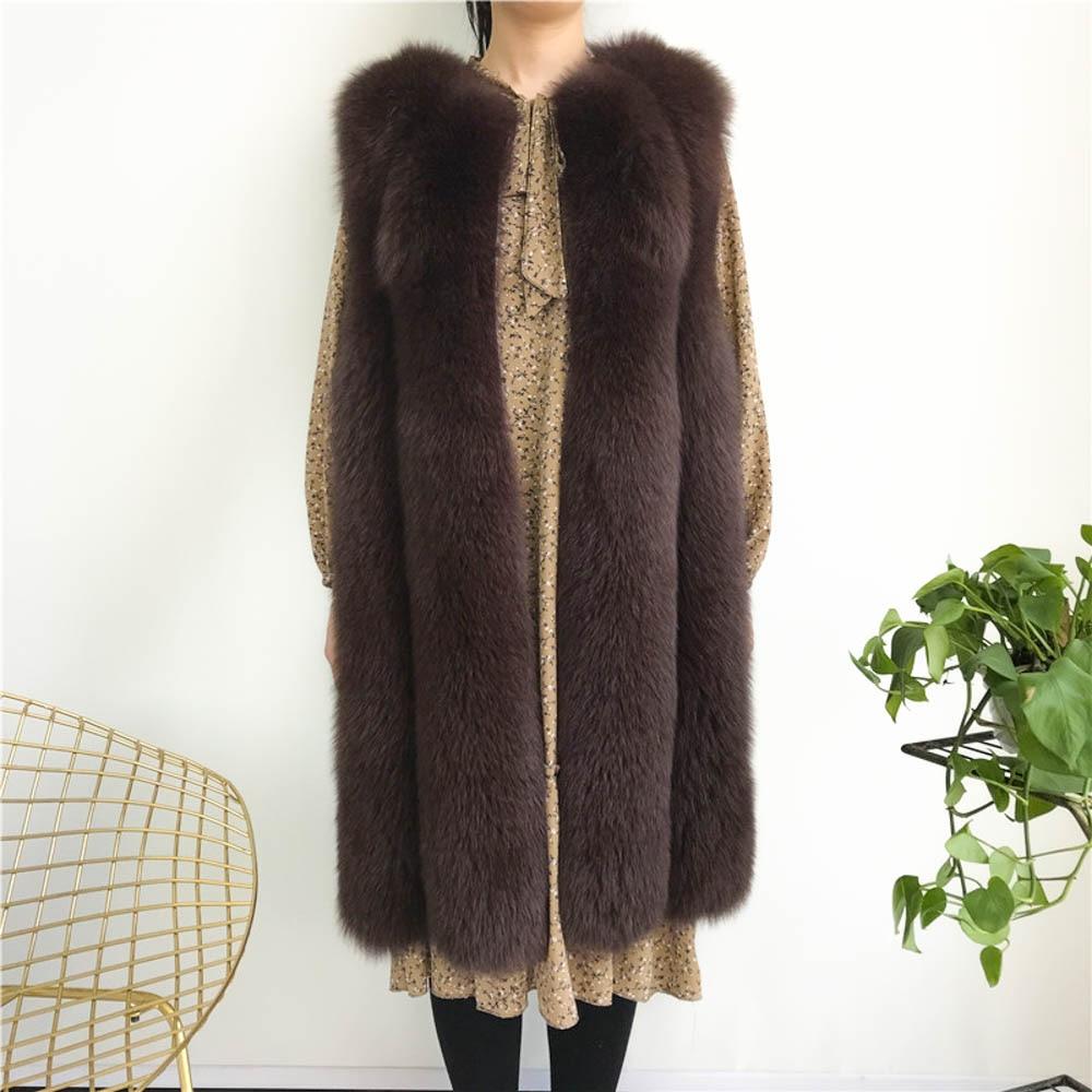 $36.18 Cheap Winter Faux Fur Vest Fashion Women Waistcoat