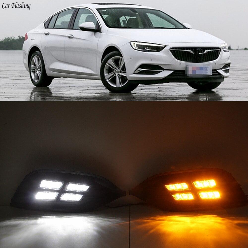 Car Flashing 1Pair DRL For Opel Insignia Grand Sport 2017
