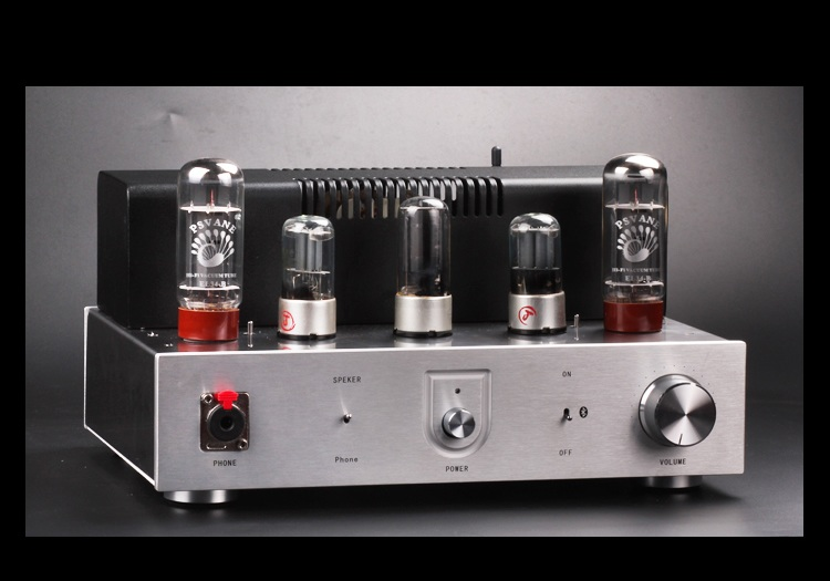 Finished EL34+6N9P+5Z2P Bluetooth tube amplifie Stereo HiFi EL34 Tube hifi audio amplifier цена