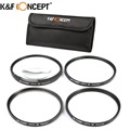 55mm, 58mm, 67mm Close Up Filter Kit Lens Macro +1 +2 +4 +10 With Filter Case Bag For Nikon Sony Canon Camera Lens K&F CONCEPT