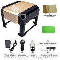 3000 МВт лазерная машинка для гравировки по дереву маршрутизатор лазерный резак DIY печать мини принтер маркиратор Пользовательский логотип 80