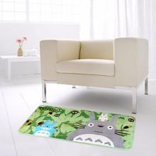 Hot Totoro Mat Super Soft Coral Fleece Cartoon rugs and carpets for home living room Anti-slip Kitchen carpet Bathroom Rug