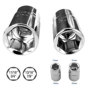 Image 4 - 확장 가능한 휠 브레이스 렌치 타이어 타이어 Telescoping 러그 렌치 소켓