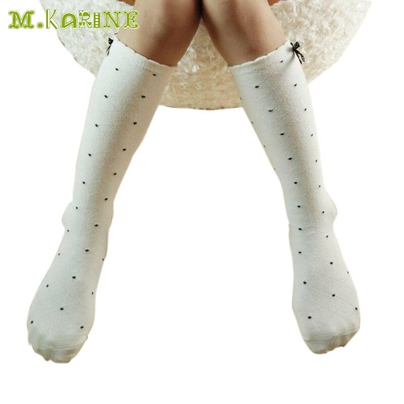 ᗑNueva moda Niñas Medias algodón bebé niño Calentadores para ...