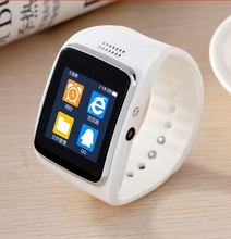Bluetooth font b Smart b font Watch Clock Smartwatch Sport Watch WristWatch For apple iphone Android