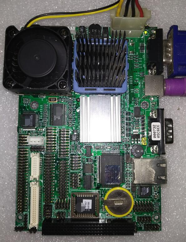 100 OK Original 3 5 inch IPC Embedded Motherboard Gene 6310 B1 0 Industrial Mainboard SBC