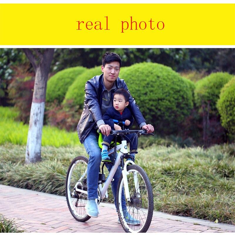 Venta caliente 2018 nueva bicicleta de carretera de montaña asiento de seguridad para niños silla frontal de bicicleta para niños adecuada para 0-6 años bebé - 3