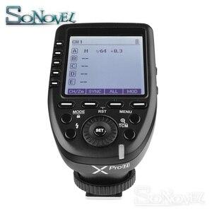 Image 4 - Godox Xpro N i TTL II 2.4G X Sistema Sem Fio Flash Gatilho + Receptor Sem Fio para Nikon Camera & SB5000 X1R N SB910 SB900 Flash