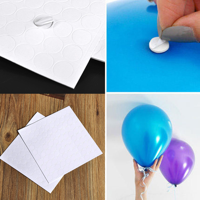 100 Points Balloon Attachment Glue Dot Attach to Ceiling Wall Party Home Decor