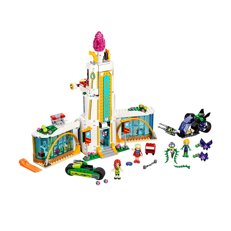 Lepin 41232 Pogo Bela 10618 Super Heroes High School Girls Marvel Avengers Building Blocks Bricks Compatible legoe Toys lepin 75821 pogo bela 10505 birds piggy cars escape models building blocks bricks compatible legoe toys