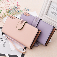 2018 New Design Leather Wallets Women Brand Purses For Woman