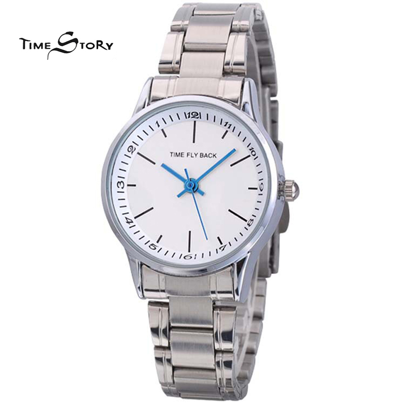 Brand Time Fly back Anti clockwise Classic Fashion Watch Women Quartz Wrist Watches 3ATM Waterproof Customized