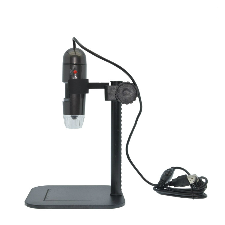 Newest 25X To600X USB LED Digital Electronic Microscope Magnifier Camera Black Hot Sale 600X Electronic Microscope - 2