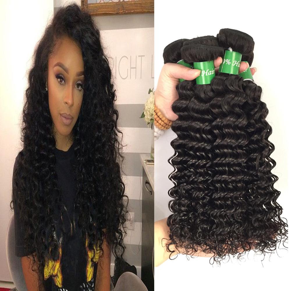 Stupendous Online Get Cheap Deep Wave Weave Hairstyles Aliexpress Com Short Hairstyles For Black Women Fulllsitofus