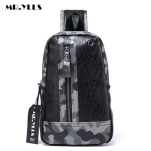 MR.YLLS Brand Camouflage Chest Bags For Men Fashion Business Shoulder Bag Travel Male Crossbady Messenger Bag Famous Designer