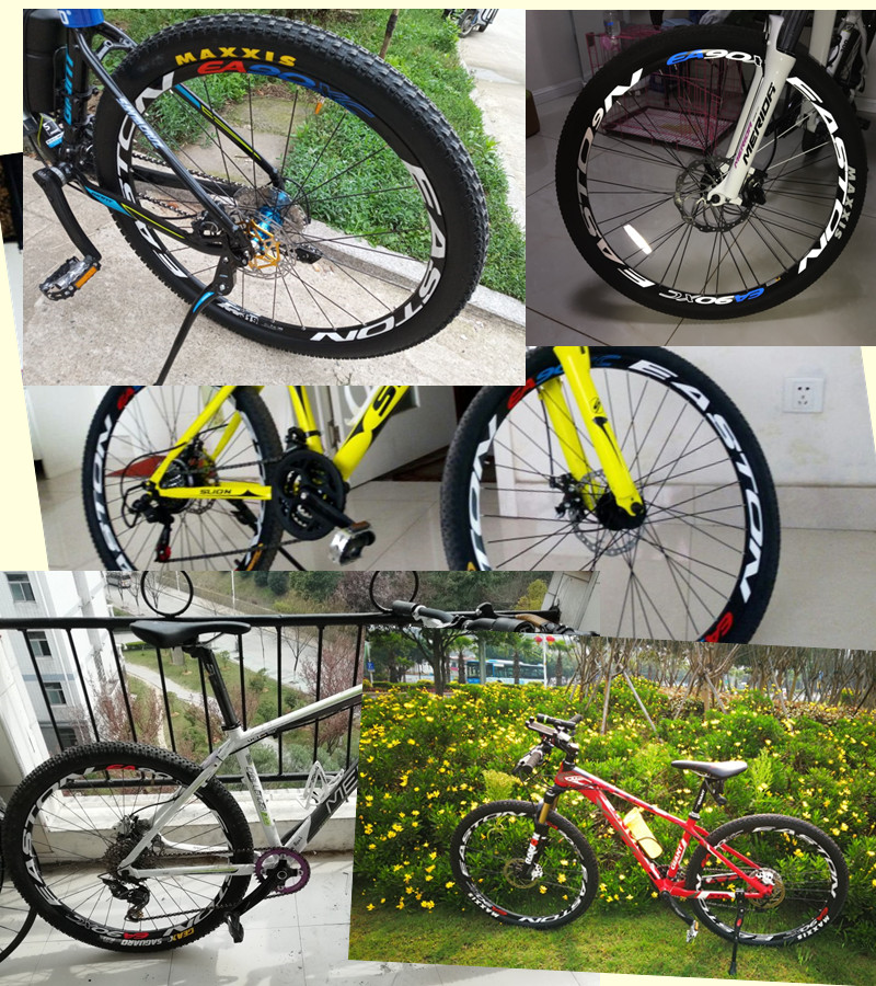 HOPE tech Mountain bike bicycle wheel rim set stickers MTB dh two wheels decals