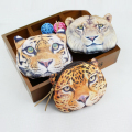 Kids purse 3D animal printed coin purse Money Purse Female Women's wallet children Bag Pouch small mini bag leopard lion tiger