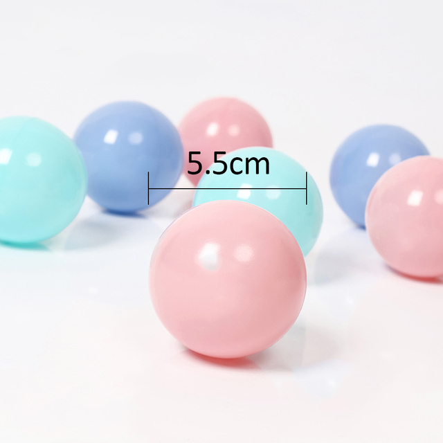 100pcs/lot Eco-Friendly Colorful Plastic Ball Water Pool Ocean Wave Ball Toys Stress Air Ball Outdoor Sports Toys for Children 5