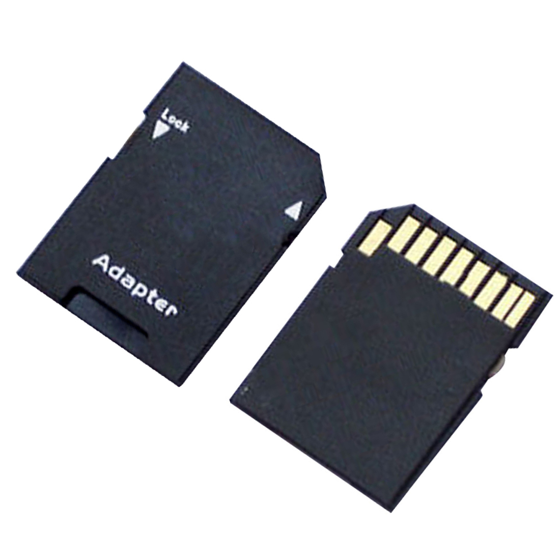 NOYOKERE 2PCS Hot Sale Popular Micro SD TransFlash TF To SD SDHC Memory Card Adapter Convert Into SD Card