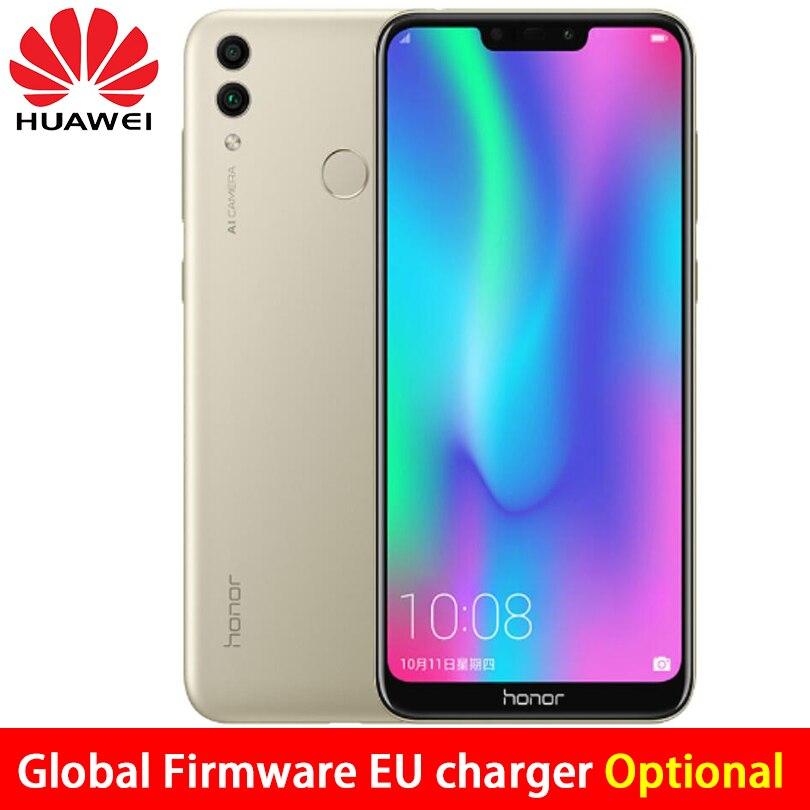 Global ROM Huawe Honor 8C 4GB RAM 32GB ROM6 26inch screen Snapdragon 632 Octa Core Dual