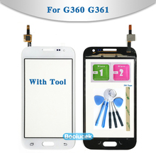 4.5″ For Samsung Galaxy DUOS Core Prime G360 G360H G3608 G361 G361H G361F Touch Screen Digitizer Sensor Glass Lens Panel