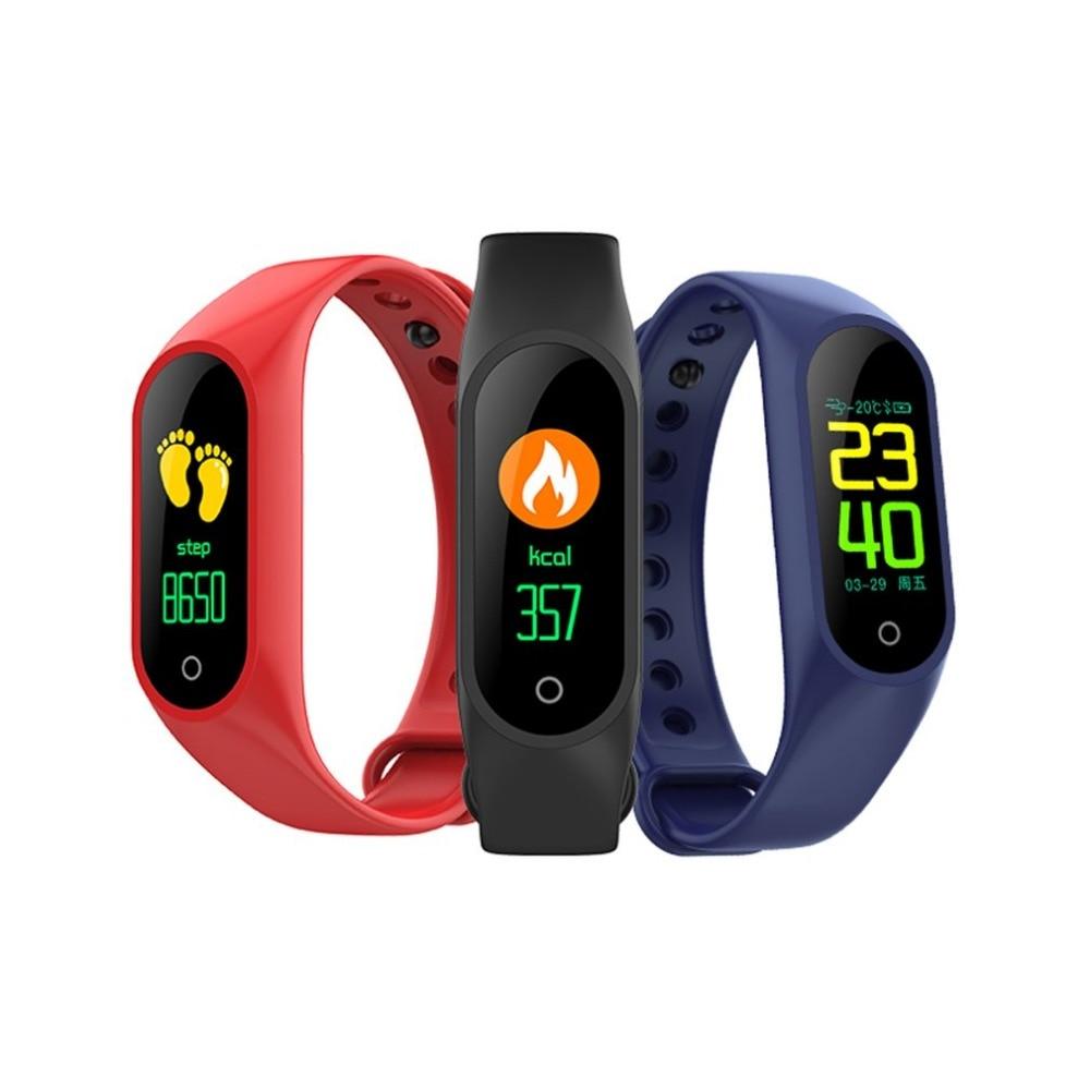 Schrittzähler M3 Smart Armband Herz Rate Und Blutdruck Monitor Intelligente Erinnerung Sport Kalorien Pedometer-armband Seien Sie In Geldangelegenheiten Schlau Fitnessgeräte