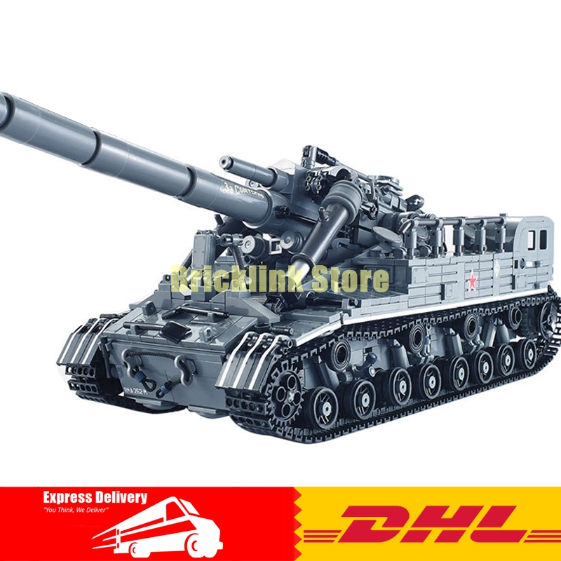 XingBao Block 1389Pcs Creative MOC Military Series The T92 Tank Set Education Building Blocks Bricks Toys 06001 For Kids Gift hot modern military t92 tank moc building block model bricks toys collection for adult children gifts