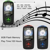 RUIZU 1.8 inch TFT Screen HiFi 8GB Sport Music Player With SD Card Slot,FM,Alarm,Calendar,Stopwatch,Portable Mini MP3