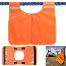 85*48 см оранжевый демпфер лебедки кабельная Подушка защитный жилет Одеяло восстановление буксировочный аксессуар транспортное средство машина внедорожная внешняя часть
