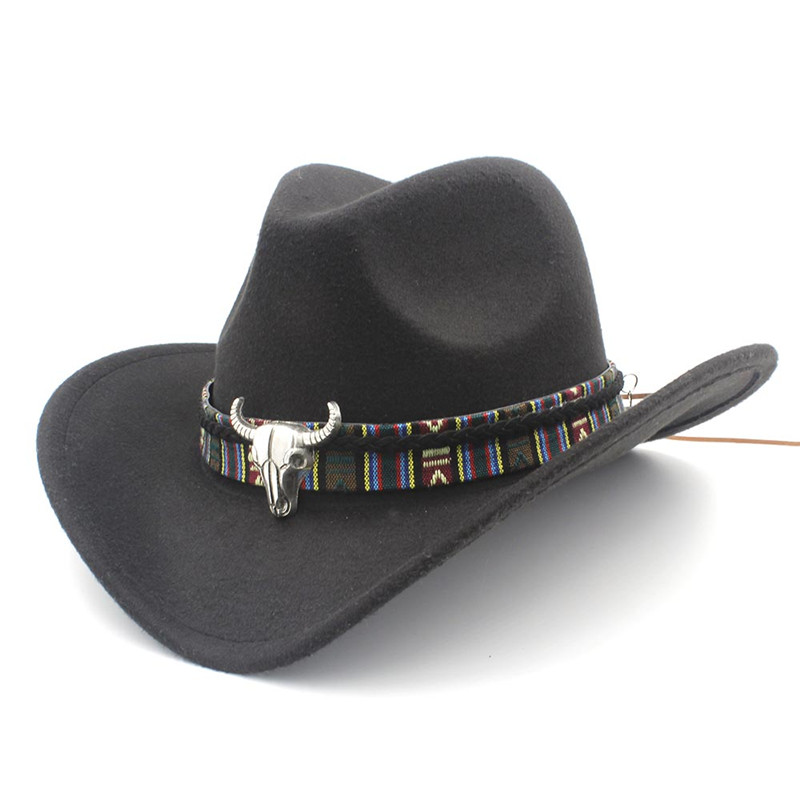 Chapeau cow-boy en laine