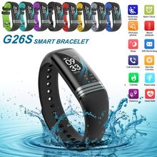 Get more info on the G26S Smart Sport Bracelet Fitness Tracker with Heart Rate Blood Pressure Sleep Monitor IP67 Waterproof Color Screen Sport Watch
