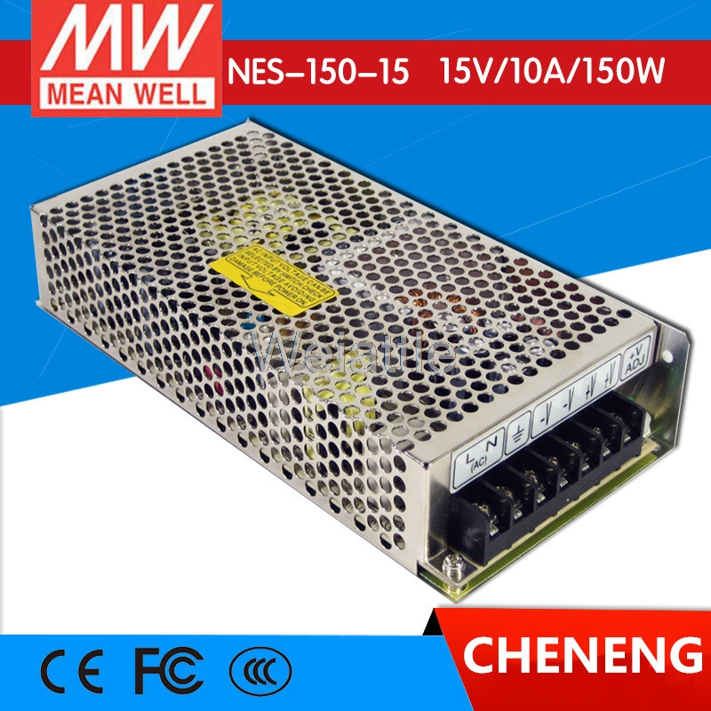 MEAN WELL original NES-150-15 15V 10A meanwell NES-150 15V 150W Single Output Switching Power SupplyMEAN WELL original NES-150-15 15V 10A meanwell NES-150 15V 150W Single Output Switching Power Supply