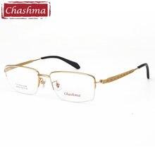 Очки для мужчин большие размеры оправа оптических очков титановые