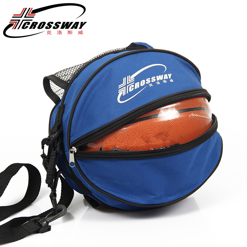 6b4995c0edfa Round Shape Basketball Bag Volleyball Football Backpack Adjustable Shoulder  Strap Storage Bags Outdoor Training Accessories-in Basketballs from Sports  ...