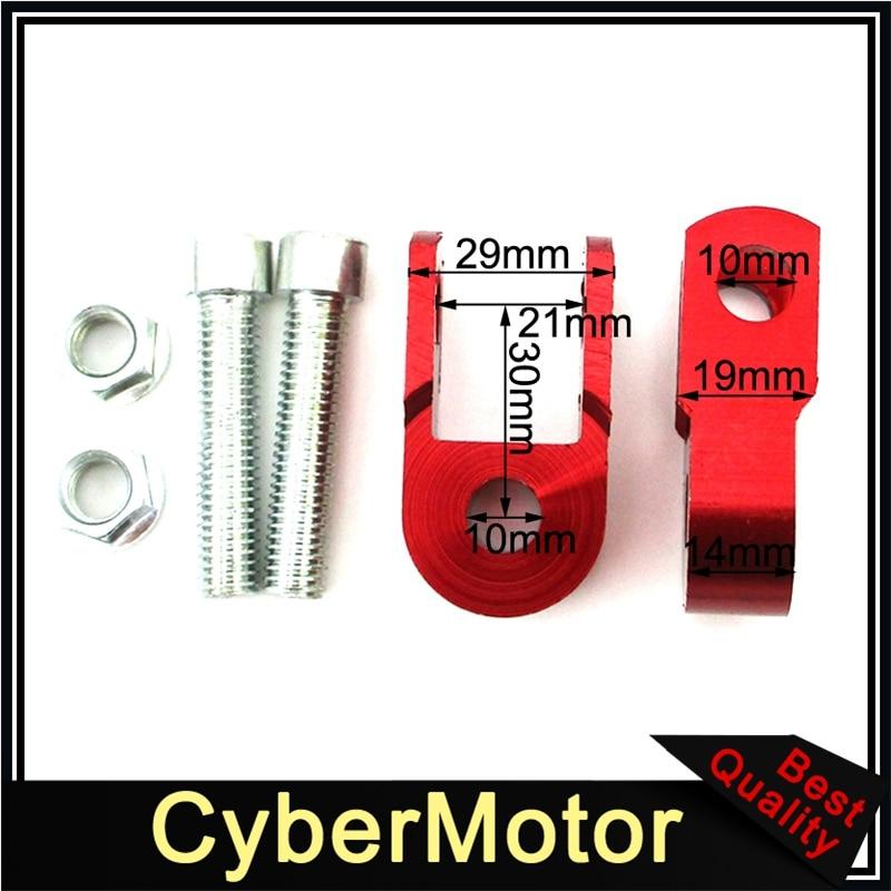 XLJOY Shock Absorber Extender Riser For CRF50 KLX110 TTR50 DRZ110 Dirt Pit Bike ATV