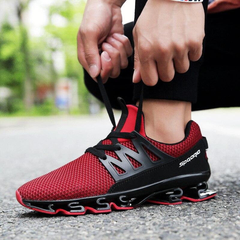 Verano hombres zapatos casual malla transpirable moda luz suave Zapatillas Hombre zapato